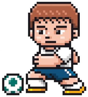Karikatur-fußballspieler - pixeldesign