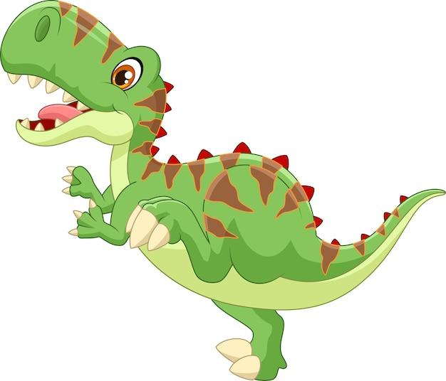Karikatur nette tyrannosauruskarikatur