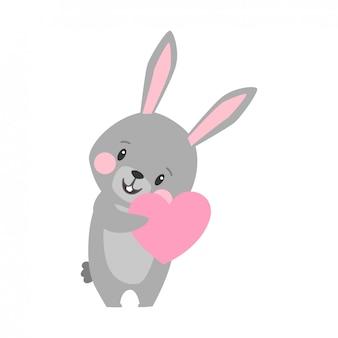 Karikaturillustration des kaninchens