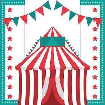 Karneval festival konzept