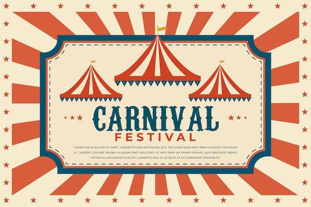 Karneval festival vorlage