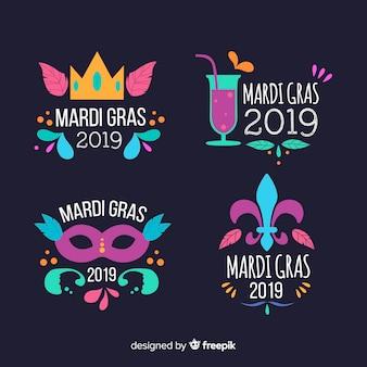 Karneval karneval abzeichen sammlung