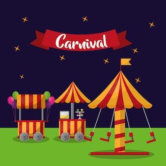 Karneval karussell