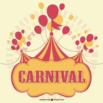 Karneval kostenlosen vektor