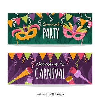 Karneval-party-banner
