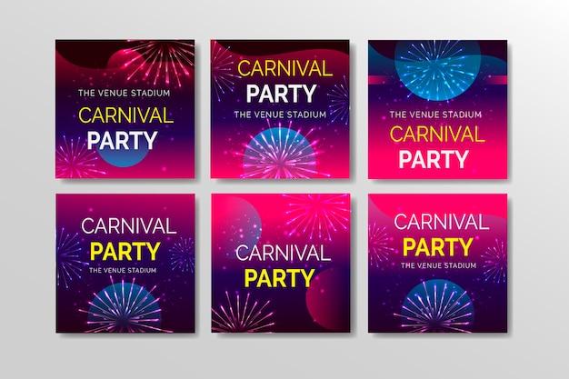 Karneval party instagram beitragssammlung