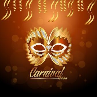 Karnevalillustration des karnevals