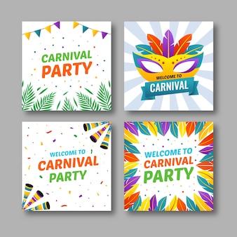 Karnevals-posten für instagram