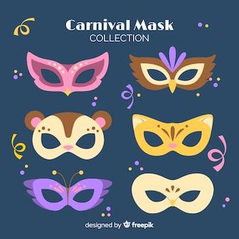 Karnevalsmaske-sammlung