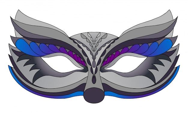 Karnevalsmaske wolf.