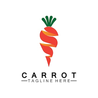 Karotten-logo-vektor-symbol-illustration-design-vorlage