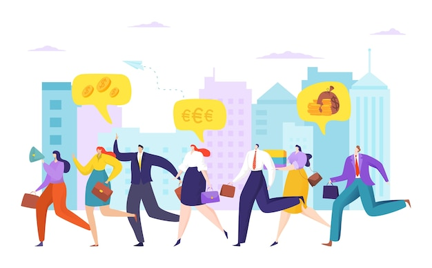 Karrierewettbewerb um das konzept der führungs- und teamleistung