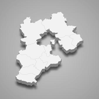 Karte provinz china