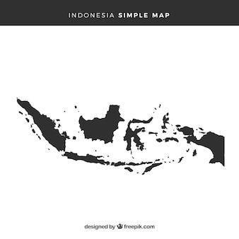 Karte von Indonesien