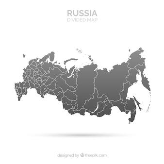 Karte von russland