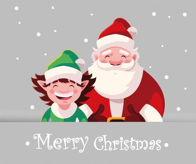 Karte von weihnachten mit beschriftung der frohen weihnachten
