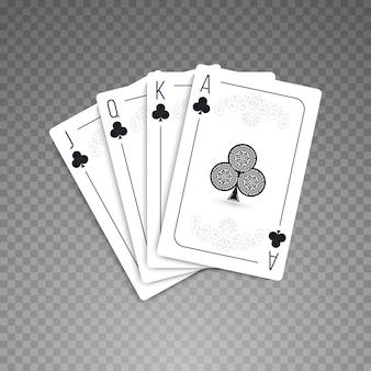 Karten voller satz