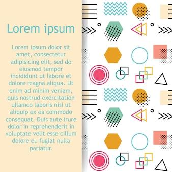 Karteneinladungs-abdeckungsschablonendesign abstrakter künstlerischer hintergrund