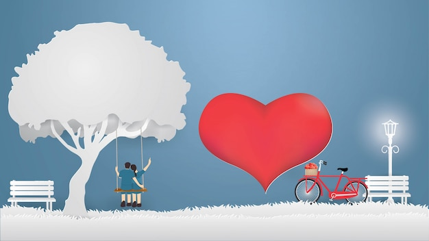 Kartenentwurfsschablone des valentinsgrußes