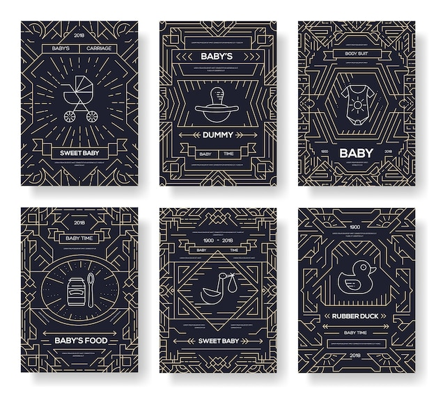 Kartenkarten der weltstillwoche. kinder elemente von flyear, zeitschriften, plakaten, buchcover, banner.