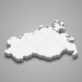 Kartenstaat deutschland