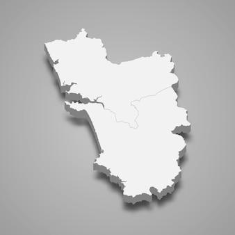 Kartenstaat indien