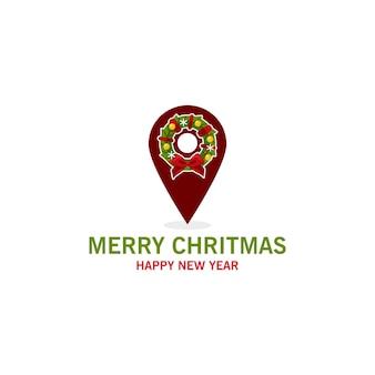 Kartenzeiger für weihnachtsfeier