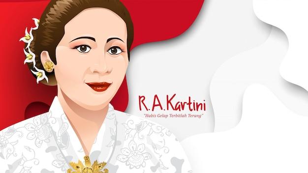 Kartini day, ra kartini die helden der frau und des menschenrechts in indonesien