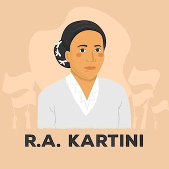 Kartini tagesillustration