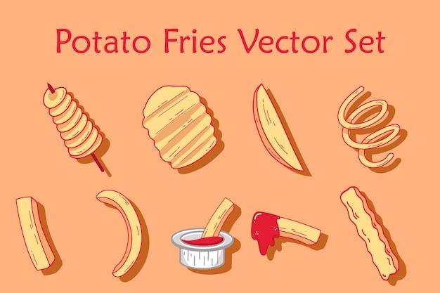 Kartoffel-pommes-set