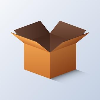 Karton öffnen