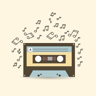 Kassetten-icon-design