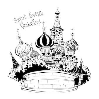 Kathedrale von wassili dem seligen, moskau, russland
