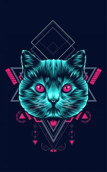 Katze heilige geometrie