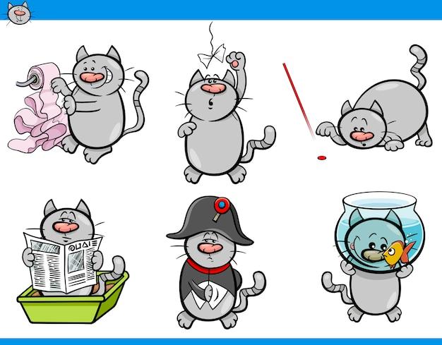 Katze humor zeichen festgelegt
