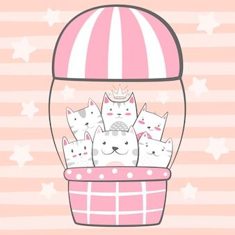 Katze, kätzchenfiguren