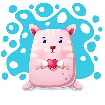 Katze kitty charakter