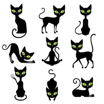 Katzen icon set