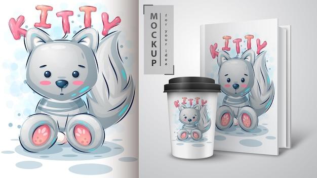 Katzen-, kätzchen-merchandising