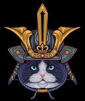 Katzen-samurai