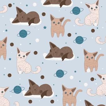 Katzen vektor-illustration