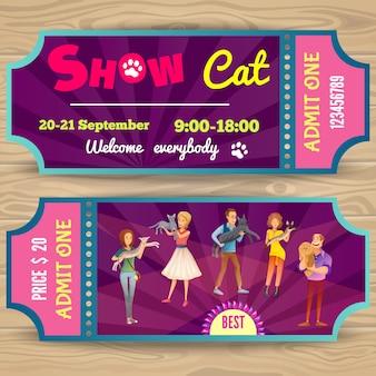 Katzenausstellung tickets