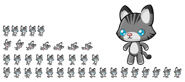 Katzenspiel sprites