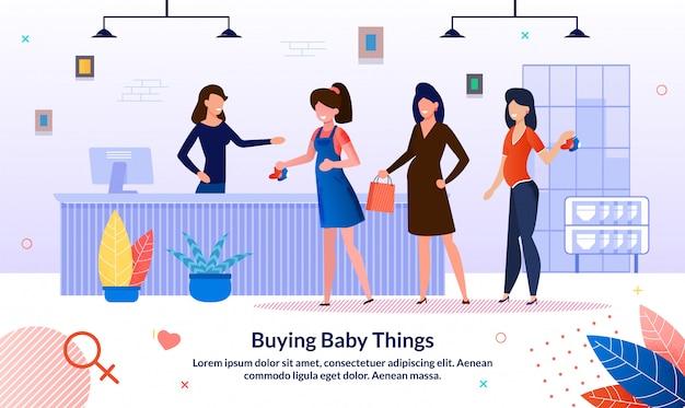 Kauf von babysachen während der schwangerschaft