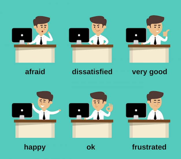 Kaufmann emotionen festgelegt