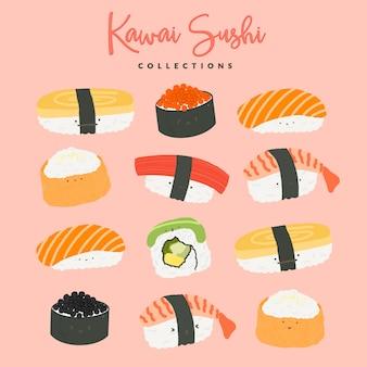 Kawai sushi sammlungen