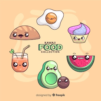 Kawaii nahrungsmittelsammlung