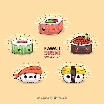 Kawaii sushi-sammlung