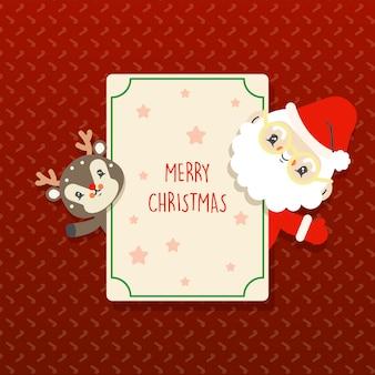 Kawaii weihnachtsgrüße