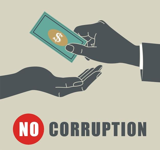 Keine korruption